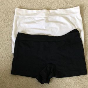 Set of Two Spandex Shorts
